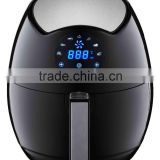 LCD digital oil free air fryer with touch screen,Household electric no oil air deep fryer,Oil free air cooker