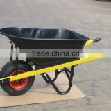 WB8603, 200kg, 100L load capacity,heavy duty steel wheelbarrow for stone, concrete for sale