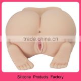 100% Medical Silicone big sexy ass and vagina Sexy Virgin Pussy big ass full silicone sex doll for male