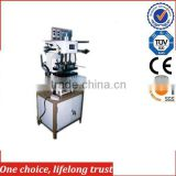 TJ-5 Embossing machine with hot foil stamping machine fot dog tag