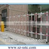Full automatic remote control Digital Barrier Gate fold arm fence barrier from Top China Manufacturer