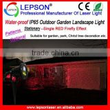 IP65 Water-proof Single Red garden laser light/Christmas decoration laser light/outdoor landscape laser light