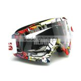 Cool fashion transparent goggle, custom motorcycle goggles , motocross glasses
