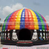 Trade Assurance 6m Diameter Disco Dome Inflatable Castle commercial Large Inflatable Disco Dome House sale