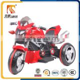 Hot sale gift toys baby plastic electric car three wheels motorcycle for big kids motor cycle