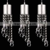 Dining room lamp lighting three crystal chandeliers withdrawing LED Chandelier Restaurant
