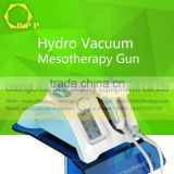 Facial Hydro Mesotherapy Vaccum Meso Gun (CE Approved) with 5 pin 9 pin and single needle for choice mesotherapy injecto