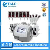Hot sale item YL-CL09 CE Approved diode laser slimming machine for weight loss
