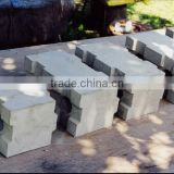 Fly Ash Lightweight Foam Concrete Block Making Plant, CLC Block Brick Machine in Yantai