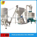 Siemens motor CE ISO approved grinding mill mixer machine for chicken,cow,duck,sheep feed