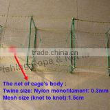 Frame 35cm*22cm fishing Crab trap for sale with super quality