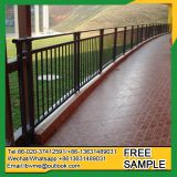 Mobile metal railings outdoor railing