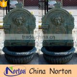 Home decoration Cast iron lion head wall fountain NTIF-015Y