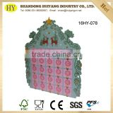 wholesale custom wooden advent calendar for christmas