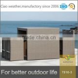 New Design Poly Rattan Barcelona Outdoor Furniture/Bar Table Chairs