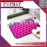 Recycle no-slip mats Anti-slip door mat eco-friendly custom Design Digital Printed Logo rubber floor mat