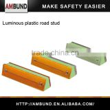 Luminescence Road safety plastic road cat eyes