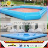 Factory For Sale Inflatable Adult Swimming Pool Swimming Pool Equipment With Large Inflatable Pools