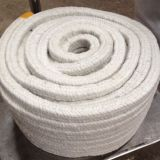 4100S-FG Frie Resistant Rope With Glass Reinforced Braided Square Ceramic Fiber Rope