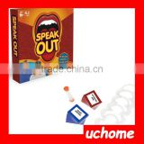 UCHOME Cheap Speak Out game original Speak out board game wholesale factory produce speak out game on sale