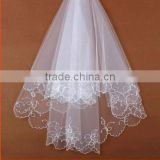 New Design Top Sale Small Birdcage Size Bridal Veils And Wedding Veil