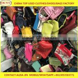 mixed used bags in bales ladies second hand big bags in hanbags second hand bags and shoes hot selling in Korea