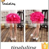 hot pink solid color tutu skirts children fashion pettiskirts professional ballet tutu for girls