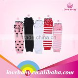 Hot Sale !! stripe baby leg warmers , Infant cotton ruffle leg warmers for baby kids LB20151024-3