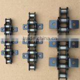 High quality short pitch conveyor chain 12A with K1/L2 attachments