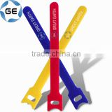 Back to Back Cable Tie Nylon Strap Power Wire Management Magic Back to Back Cable Tie Tape Sticks Hook and Loop Tape