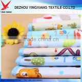 bamboo cotton brushed flannel fabric for baby diaper and blanket bamboo clothing