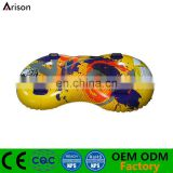 Factory OEM inflatable snowtube inflatable water ski board inflatable grass ski board for 2 people