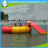 Top sell gaint inflatable water trampoline, inflatable sea trampoline for children