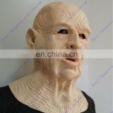 Trustworthy Realistic Full Face Eco-friendly party mask Adult Accessories High-grade Old Man Mask