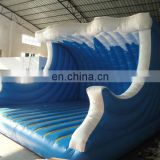 surf theme inflatable bouncer,jumping castle customized with best quality, changeable colors and themes