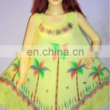 latest long umbrella dress 2016 beach dress tie dye dress rayon dress wholesale price