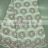 swiss embroidery cotton lace(A-40-8)
