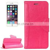 HAWEEL Magnetic PU Leather Case with Holder for iPhone 6 Plus