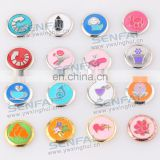 popular zinc alloy metal snap button charms