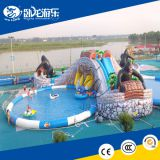 Hola inflatable water slide/ big water slides/used swimming pool slide