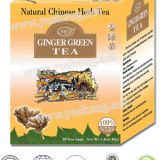 Herbal tea Ginger Green Tea instant tea