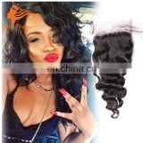 4x4 Inch Free Part Factory Made Loose Wave Remy Virgin Human Lace Hair Closure