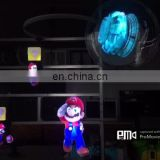 3d advertising player 3d hologram product display with wifi