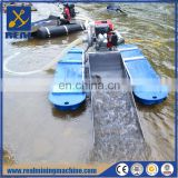 Floating gold dredge gold mining dredge for sale