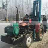 soil/earth deep weel tractor-mounted water well drilling rig hydraulic drills