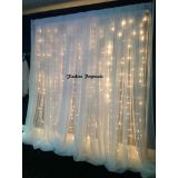 RK wedding pipe and drape white balckdrop pipe and drape