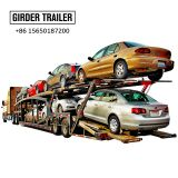 Made in China 6 cars carrier transport semi trailer with led lights