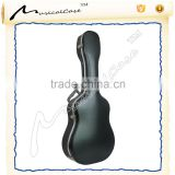 Professional bass guitar player use classic guitar case
