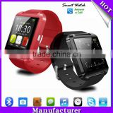 (Special at u8 smart watch)MTK chip 6260/6261A 230mah/160mah Android bluetooth smart watch u8