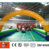 2014 new Ginat Inflatable Race Track Sports Games for Sell